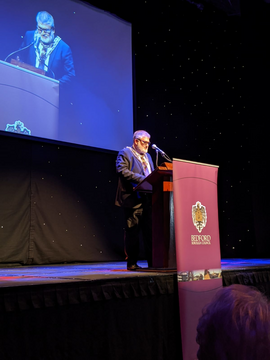 Mayor Dave Hodgson at the Bedford Sports Awards 2019